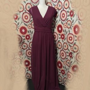 Long elegant no brand tag maxi dress